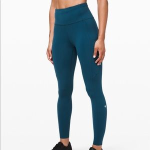 "Lululemon's fast and free HR 25"" tight leggings"